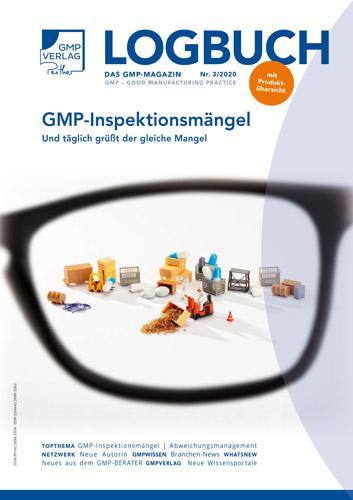 LOGBUCH 3/2020: GMP-Inspektionsmängel