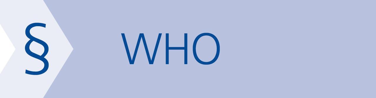 WHO: Leitlinienentwurf zu Medizinischen Gasen