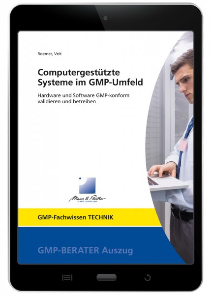 Computergestützte Systeme im GMP-Umfeld (E-Book)