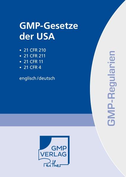 GMP-Gesetze der USA (Print)