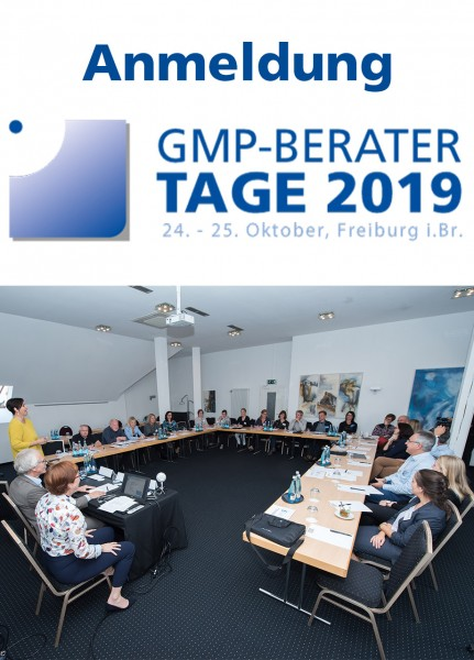 GMP-BERATER Tage - Anmeldung