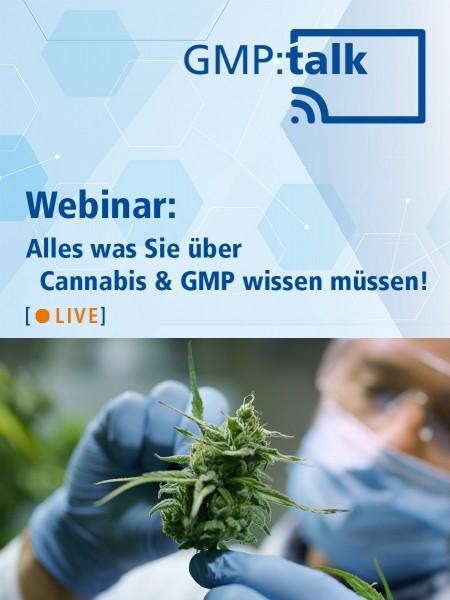 Webinar: Alles was Sie über Cannabis & GMP wissen müssen!