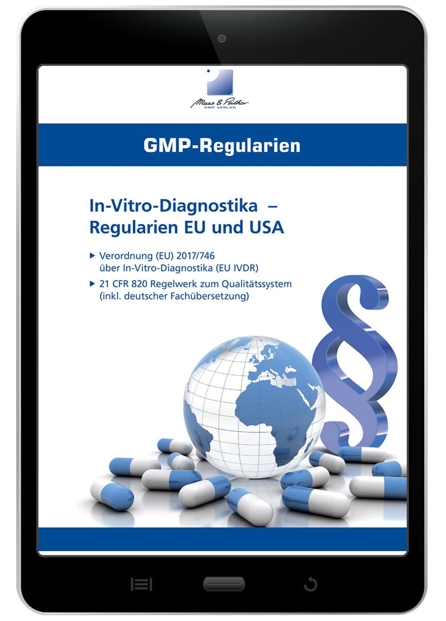 """E-Book """"In-Vitro-Diagnostika - Regularien EU und USA"""""""