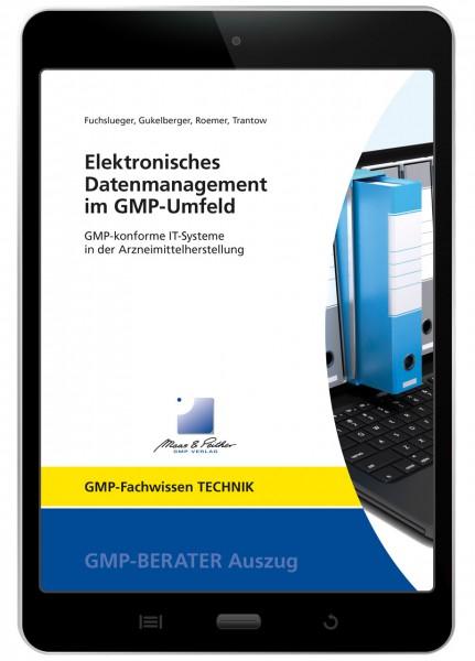 Elektronisches Datenmanagement im GMP-Umfeld (E-Book)