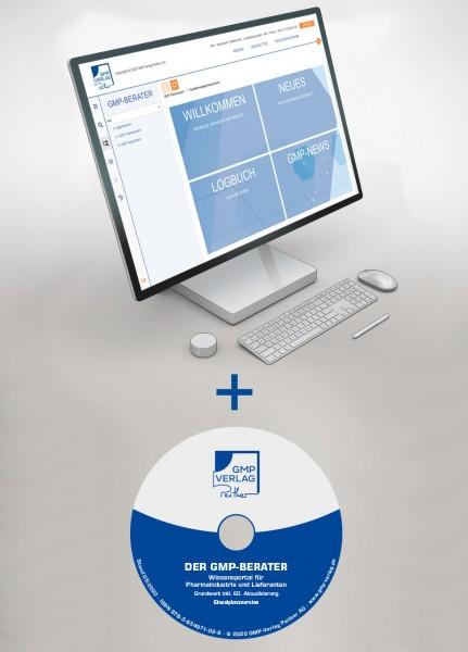 GMP-BERATER CD + Online Personenlizenz (jährlich)