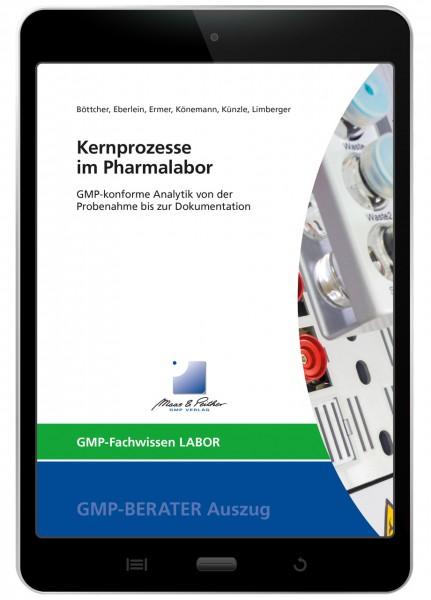 Kernprozesse im Pharmalabor (E-Book)