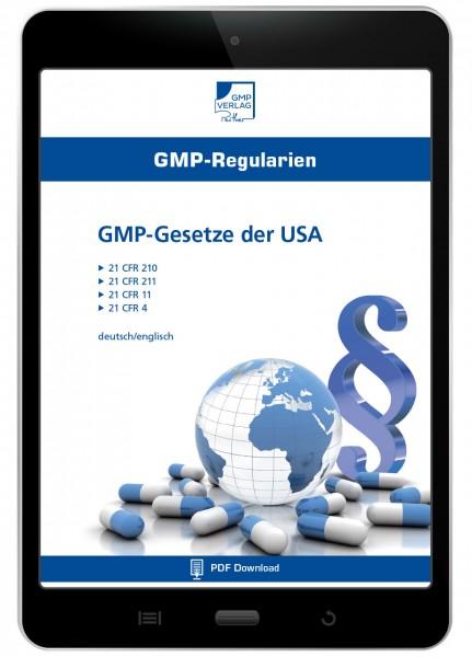 GMP-Gesetze der USA (E-Book)
