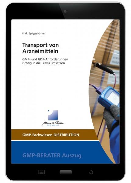 Transport von Arzneimitteln (E-Book)