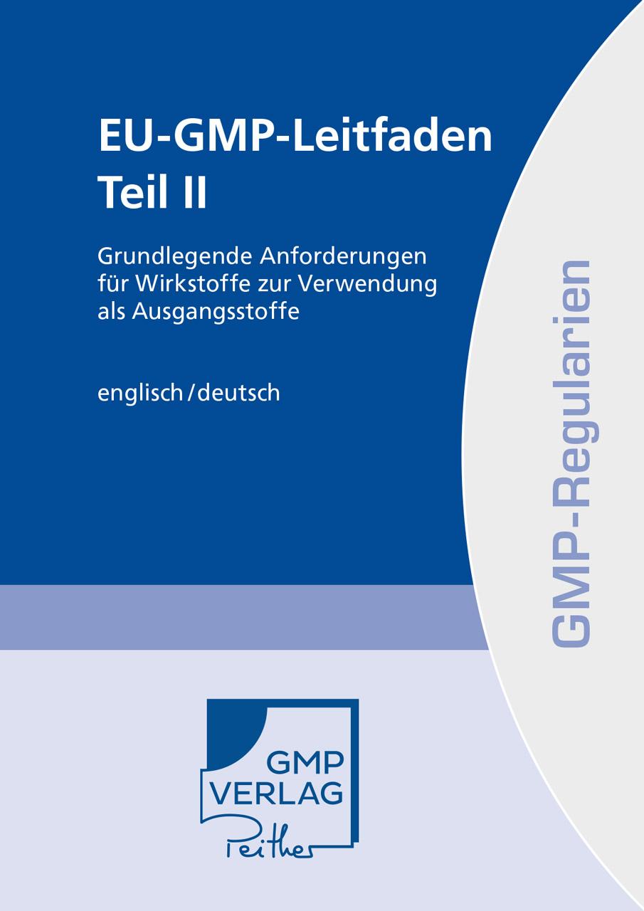 EU GMP Leitfaden Teil II Print