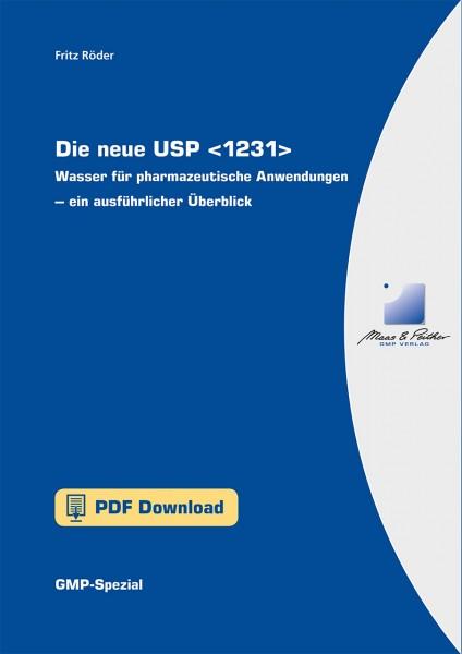 Die neue USP : Wasser für pharmazeutische Anwendungen