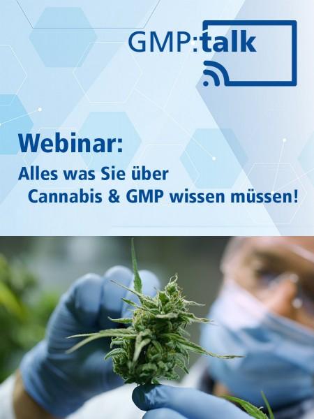 Webinar: Alles was Sie über Cannabis & GMP wissen müssen! (Aufzeichnung)