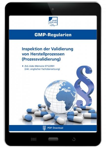 Inspektion der Validierung von Herstellprozessen (Prozessvalidierung) (E-Book)