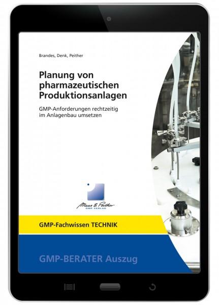 """E-Book GMP-Fachwissen """"Planung von pharmazeutischen Produktionsanlagen"""""""