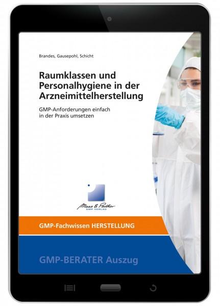 Raumklassen und Personalhygiene in der Arzneimittelherstellung (E-Book)