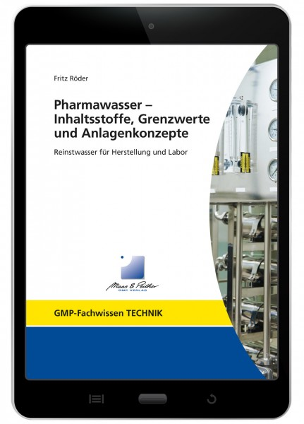 Pharmawasser - Inhaltsstoffe, Grenzwerte und Anlagenkonzepte (E-Book)