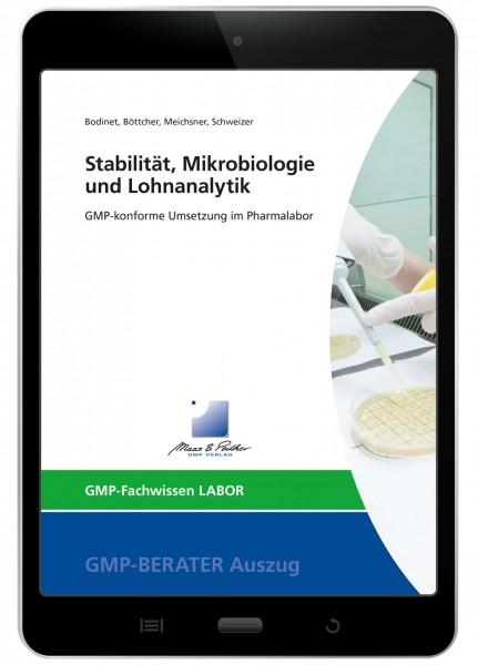 Stabilität, Mikrobiologie und Lohnanalytik (E-Book)