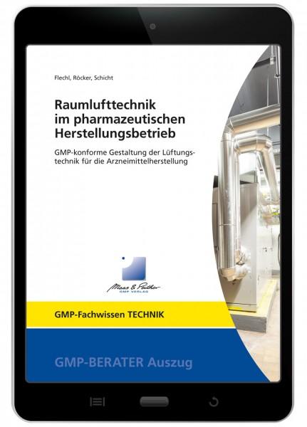 Raumlufttechnik im pharmazeutischen Herstellungsbetrieb (E-Book)