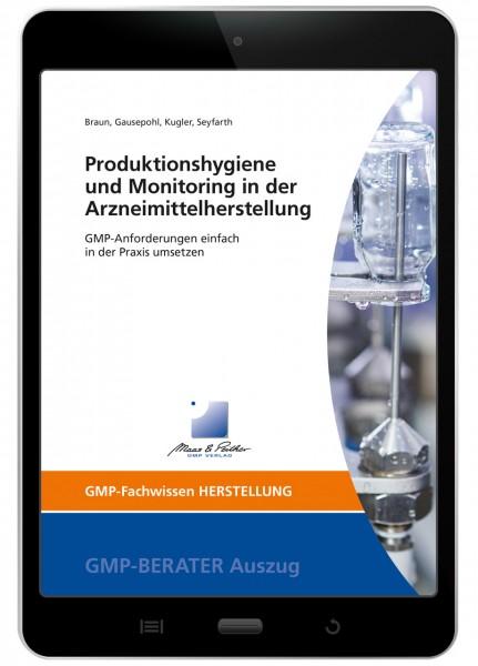 Produktionshygiene und Monitoring in der Arzneimittelherstellung (E-Book)