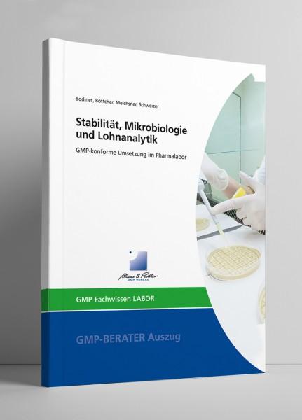 Stabilität, Mikrobiologie und Lohnanalytik