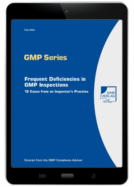 E-Book: Frequent Deficiencies in GMP Inspections