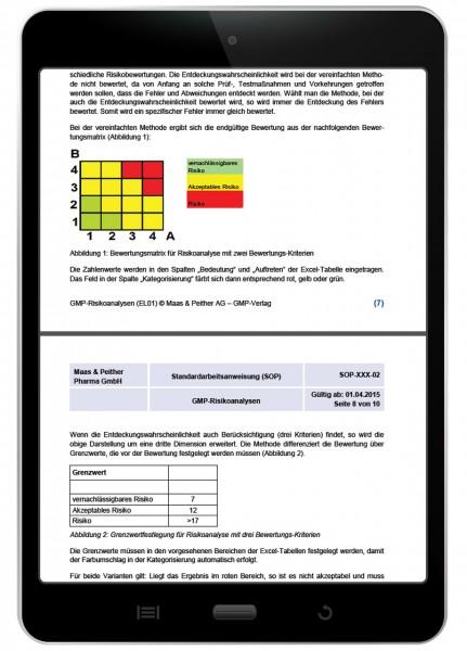Kostenlose SOP GMP-Risikoanalyse