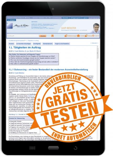 GMP-BERATER Testzugang