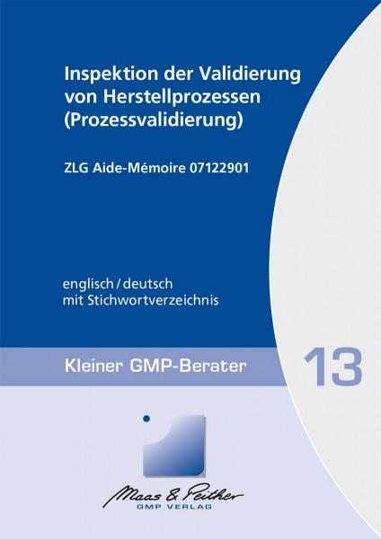 13 Inspektion der Validierung von Herstellungsprozessen (Prozessvalidierung) (Print)