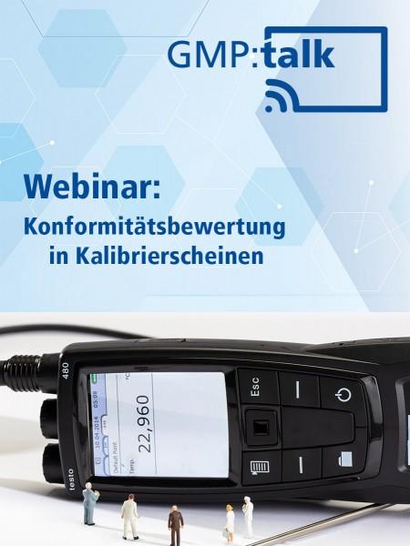 Webinar: Konformitätsbewertung in Kalibrierscheinen (Aufzeichnung)