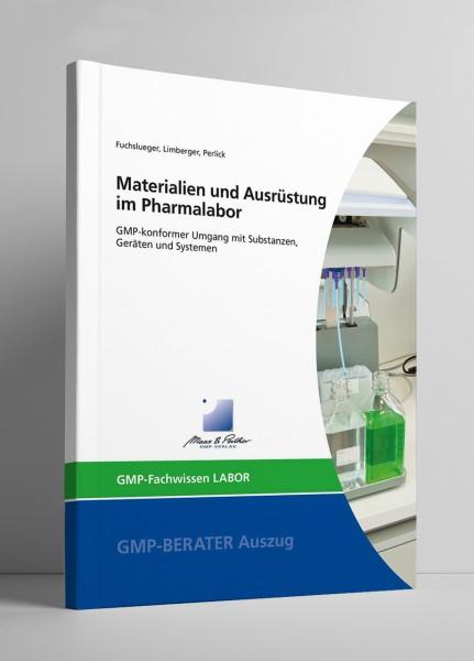 Materialien und Ausrüstung im Pharmalabor