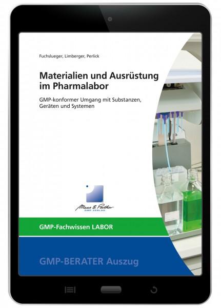 Materialien und Ausrüstung im Pharmalabor (E-Book)