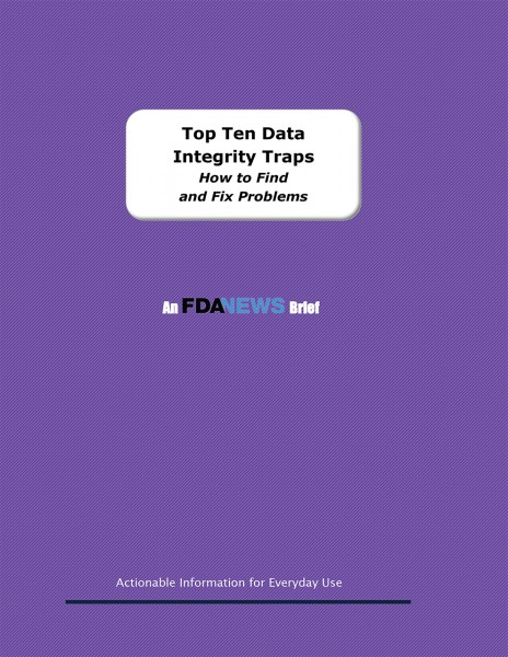 Top Ten Data Integrity Traps